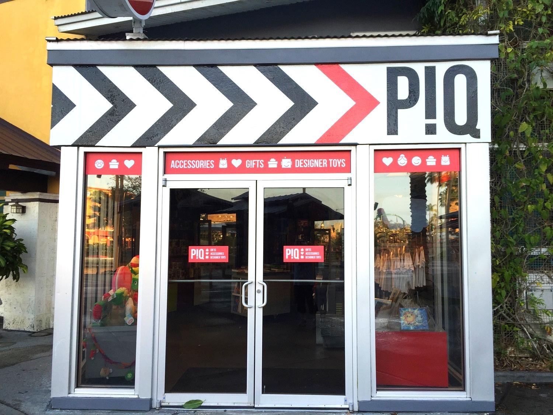 The P!Q store in Universal CityWalk Orlando.