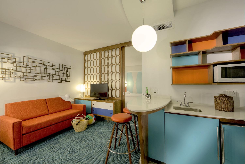 Family suite at Cabana Bay. Image credit: Universal Orlando Resort.