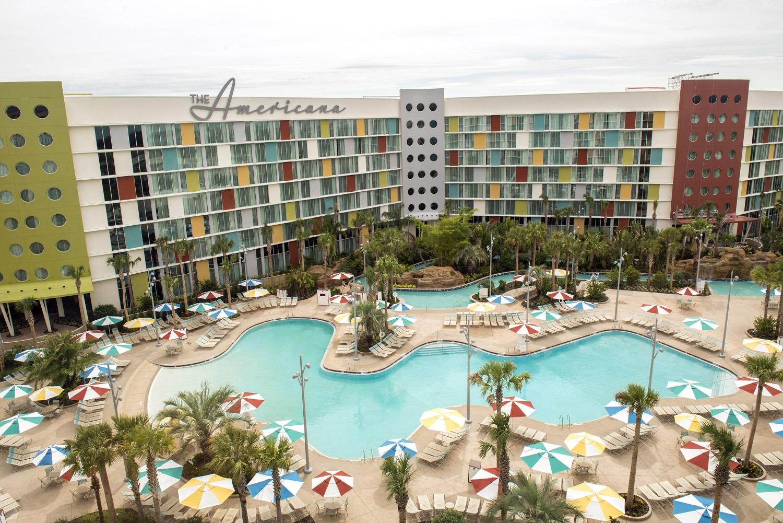 The Americana wing at Cabana Bay.Image credit: Universal Orlando Resort.