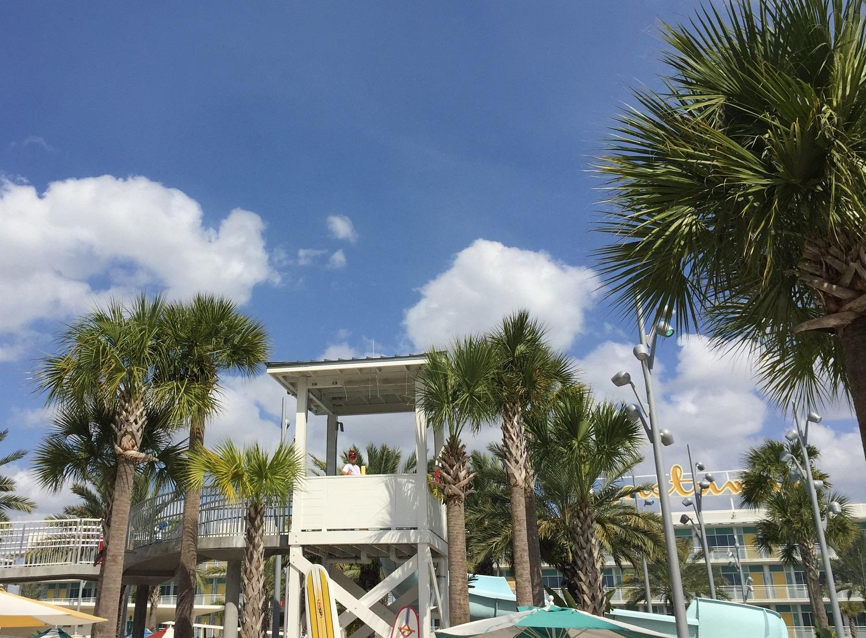 Cabana Bay Lifeguard Station