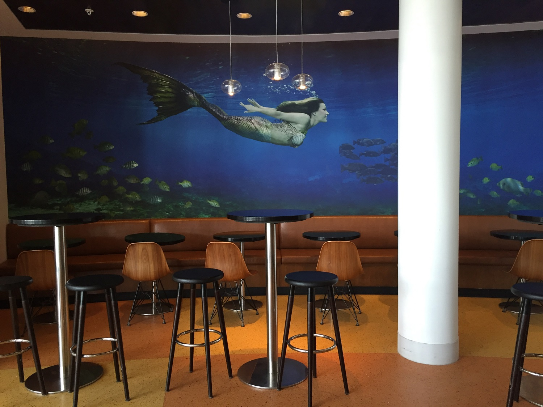 Mermaid Mural at Cabana Bay