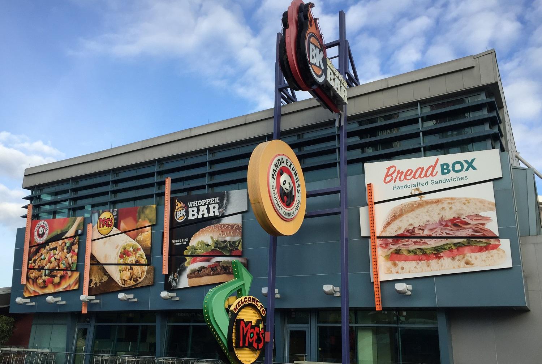 Top of the Walk Food Court in CityWalk.