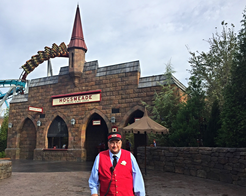 Hogwarts Express-Hogsmeade Station Entrance