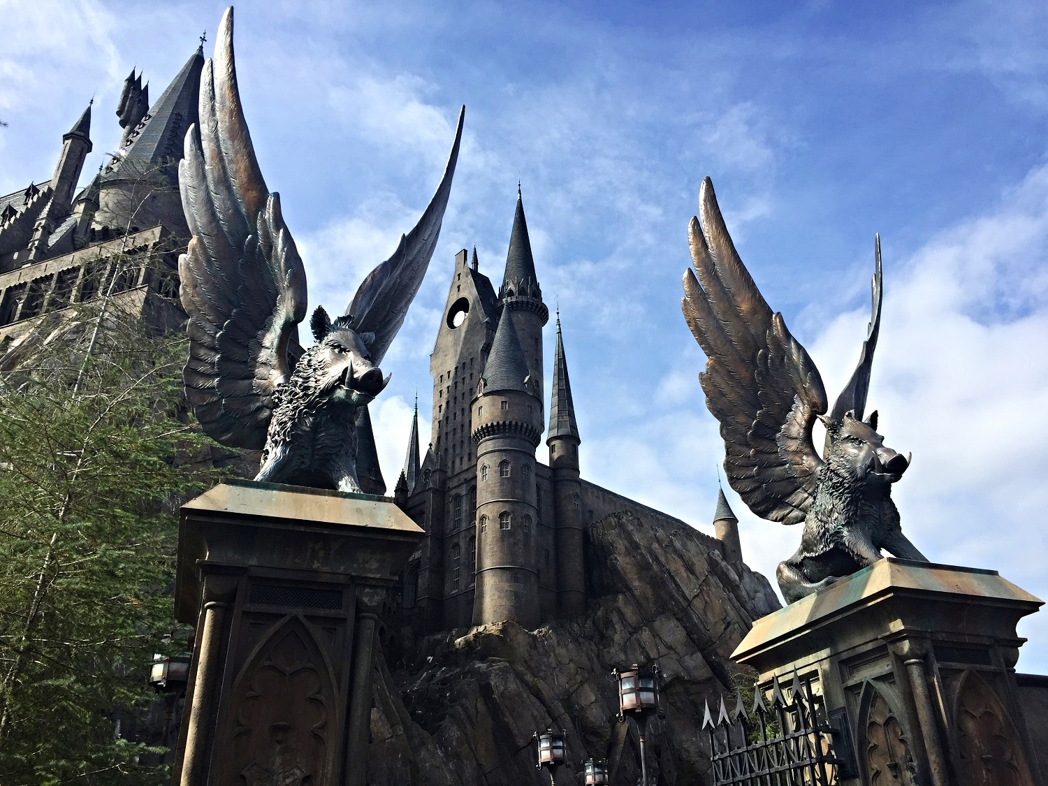 Enter the Gates of Hogwarts to Ride Harry Potter and the Forbidden Journey
