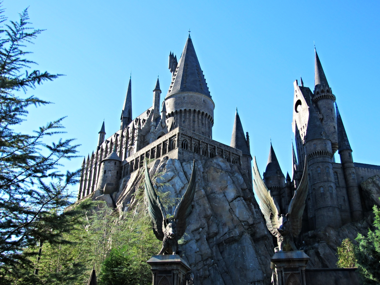 Walking Through the Gates of Hogwarts to Ride Forbidden Journey
