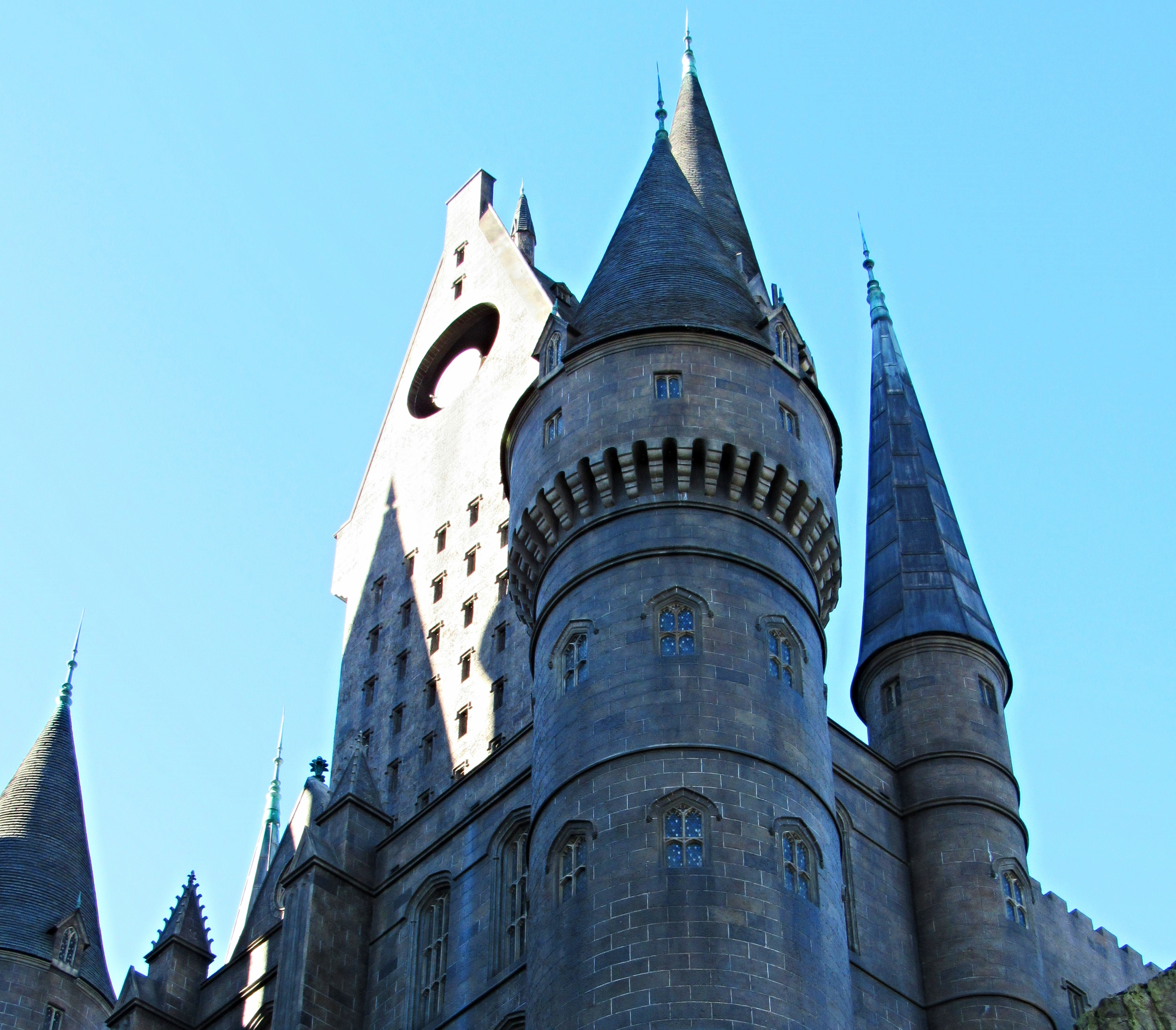 Amazing Details are part of the Forbidden Journey Exterior