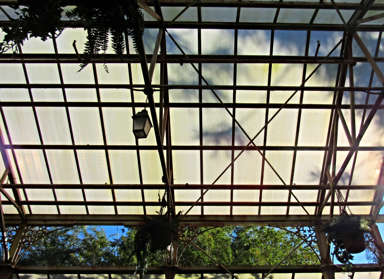 Roof of the Greenhouse in the Forbidden Journey Queue