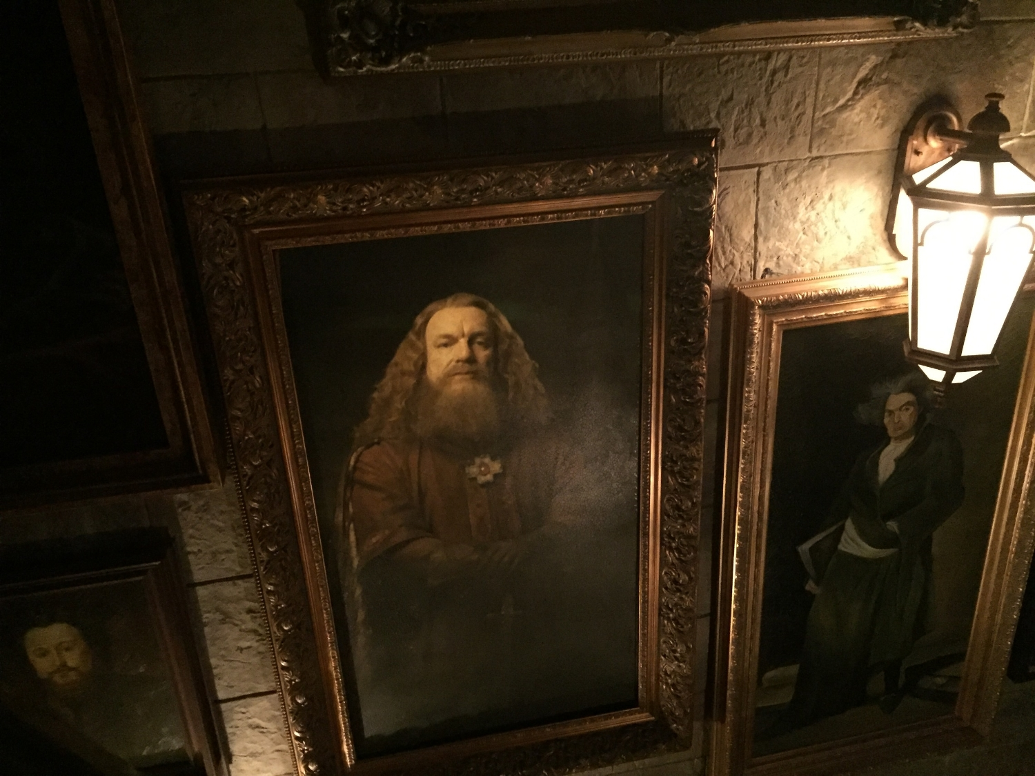 Portraits of Hogwarts Founders are Located in the Forbidden Journey Queue
