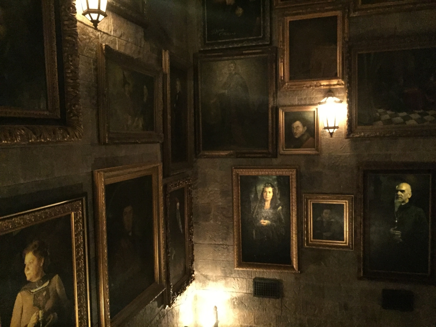 Portraits Found in the Forbidden Journey Queue Include Hogwarts Founders