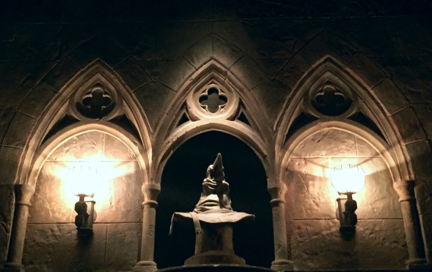 The Sorting Hat Located in the Forbidden Journey Queue
