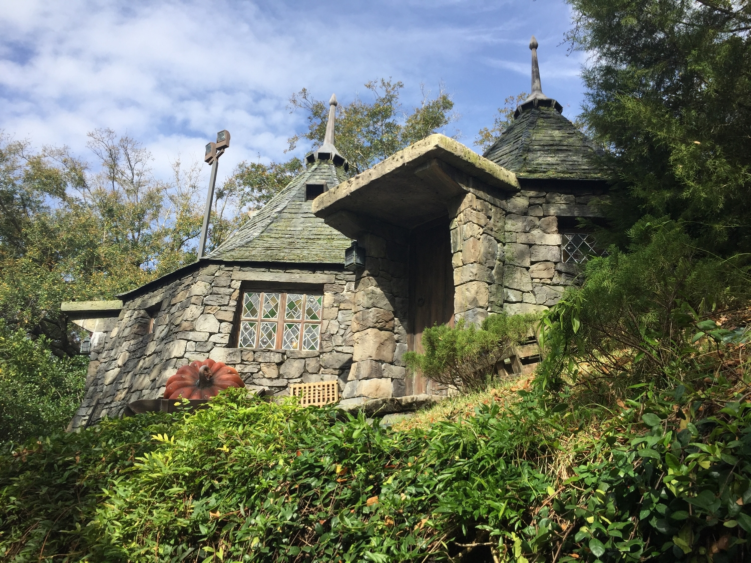 Hagrid's Hut Near Flight of the Hippogriff