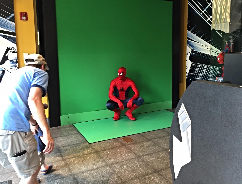 Spider Man Photo Op