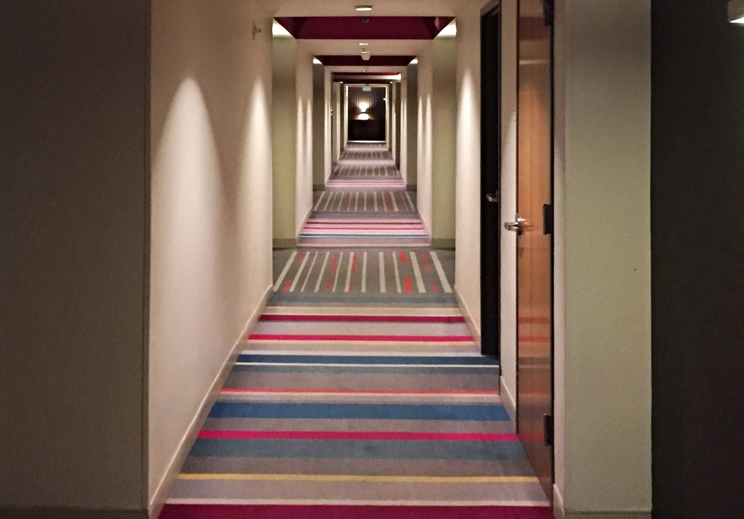 Hallway to Rooms at Hard Rock Hotel Orlando