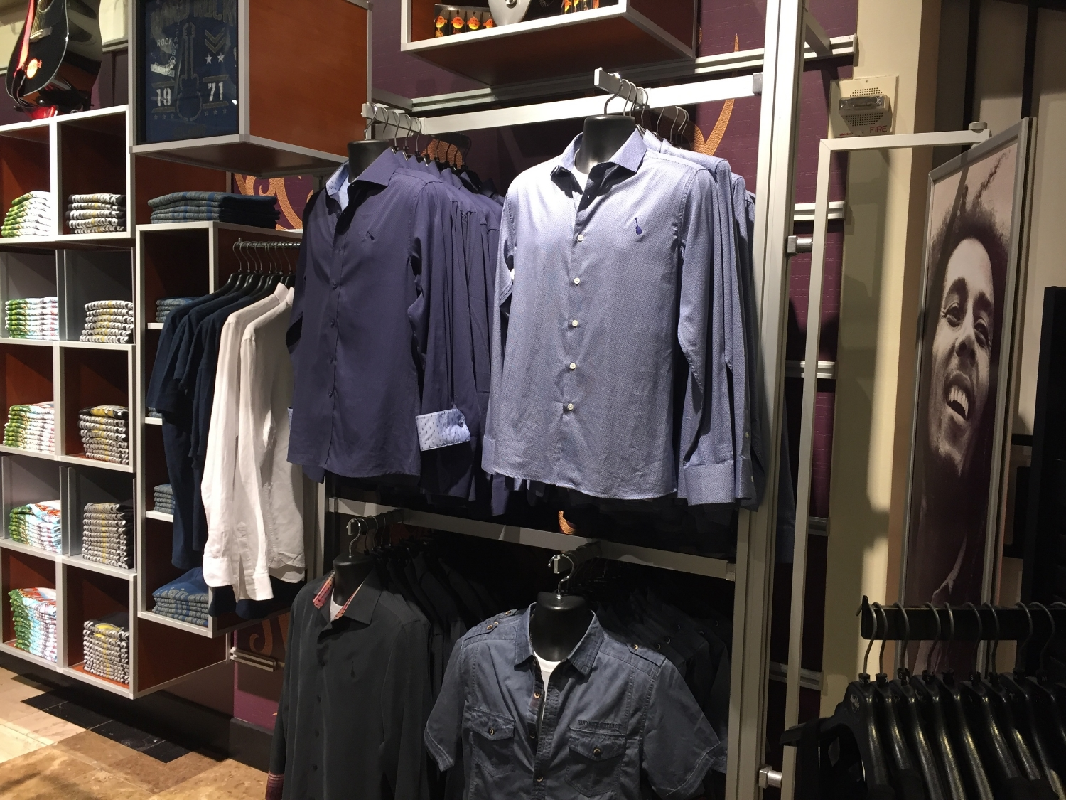 Men's Apparel at Rock Shop in Hard Rock Hotel Orlando