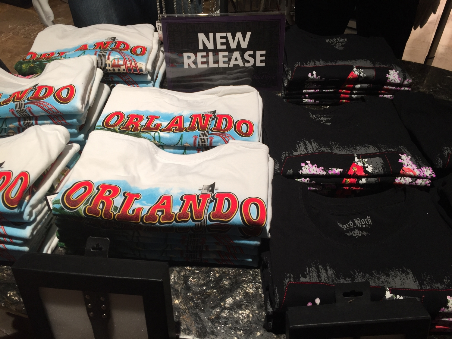 T-Shirts at Rock Shop in Hard Rock Hotel Orlando