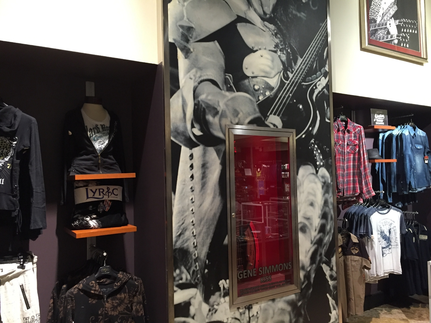 Clothing at Rock Shop In Hard Rock Hotel Orlando