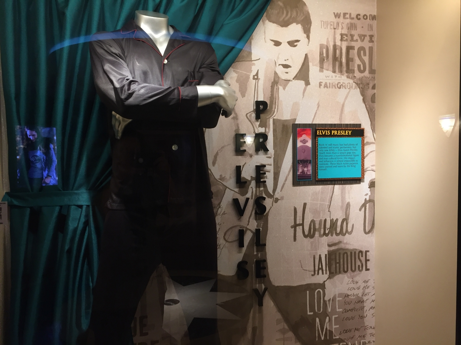 Elvis Memorabilia Display at Hard Rock Hotel Orlando