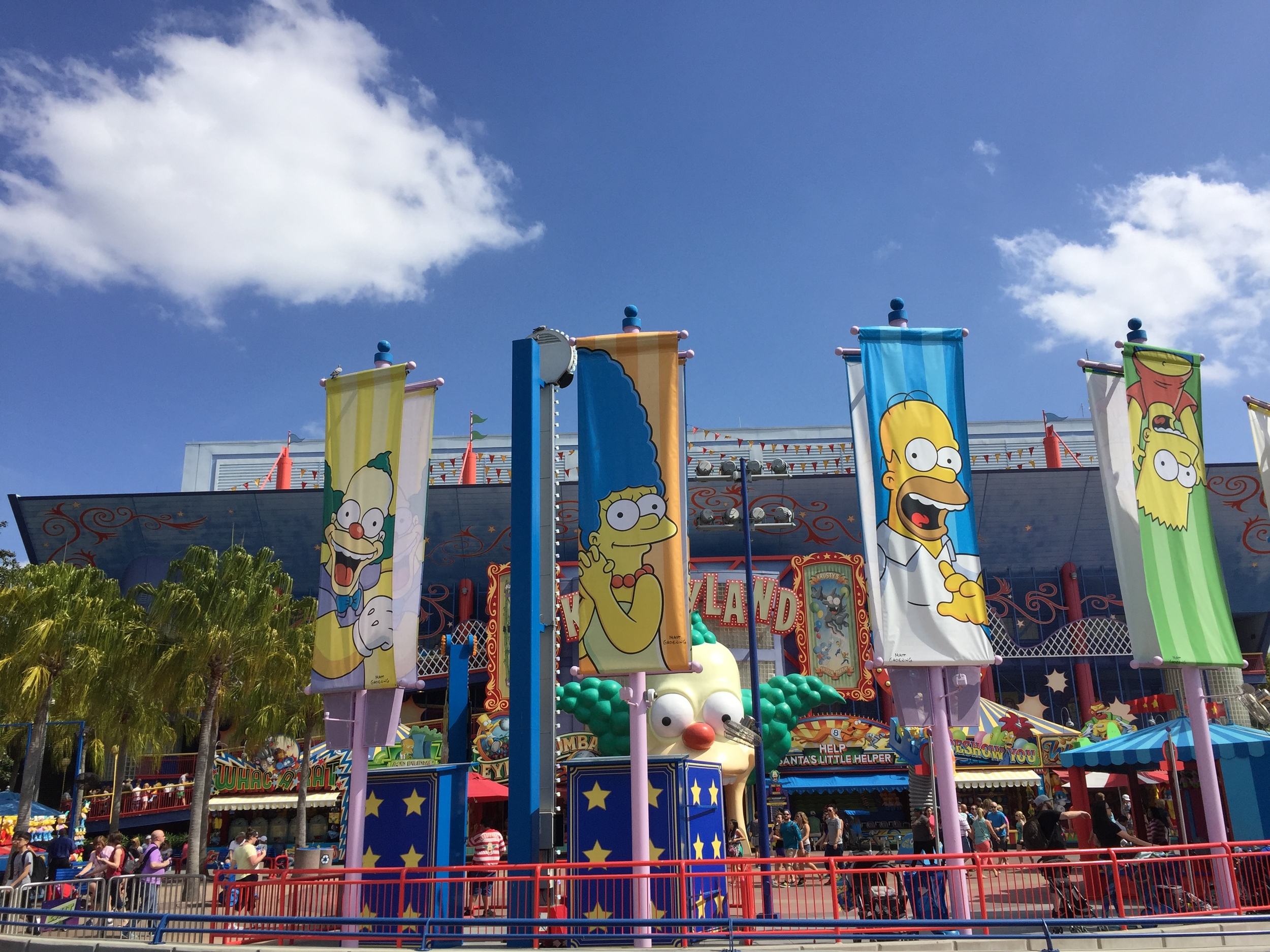 Part of the Springfield area in Universal Studios Florida.