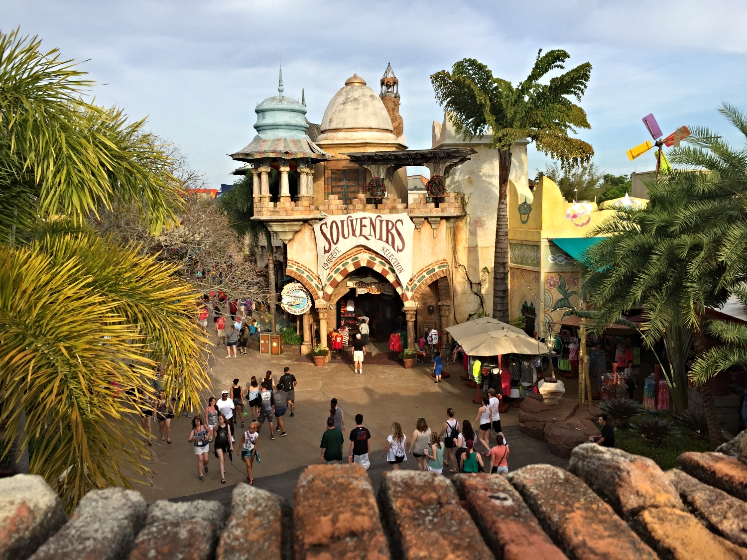 Port of Entry in Islands of Adventure.