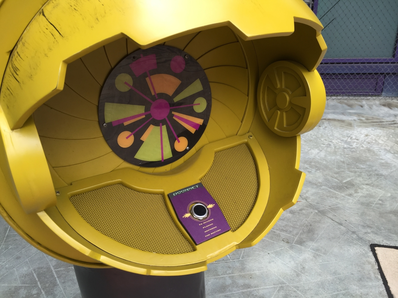 Doomnet communication port in Marvel Super Hero Island.
