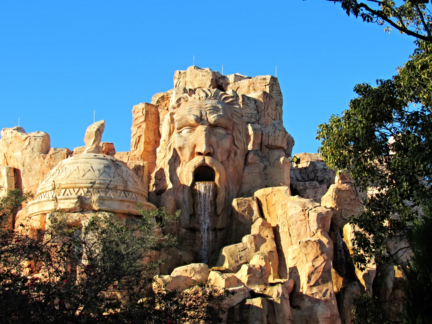 Mythos in Lost Continent in Islands of Adventure.