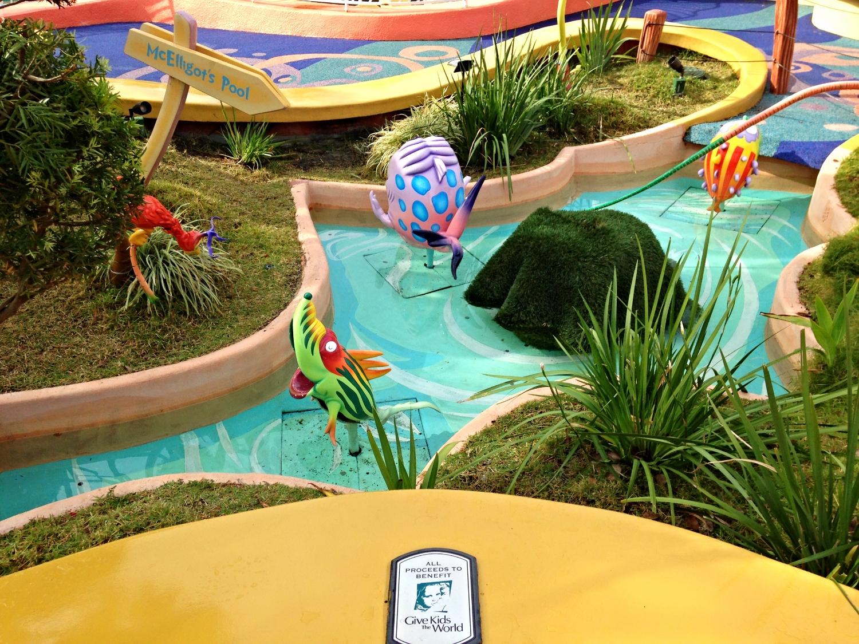 McElligot's Pool in Seuss Landing in Islands of Adventure.