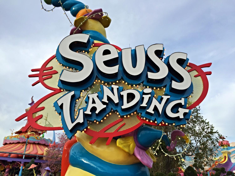Seuss Landing in Islands of Adventure.