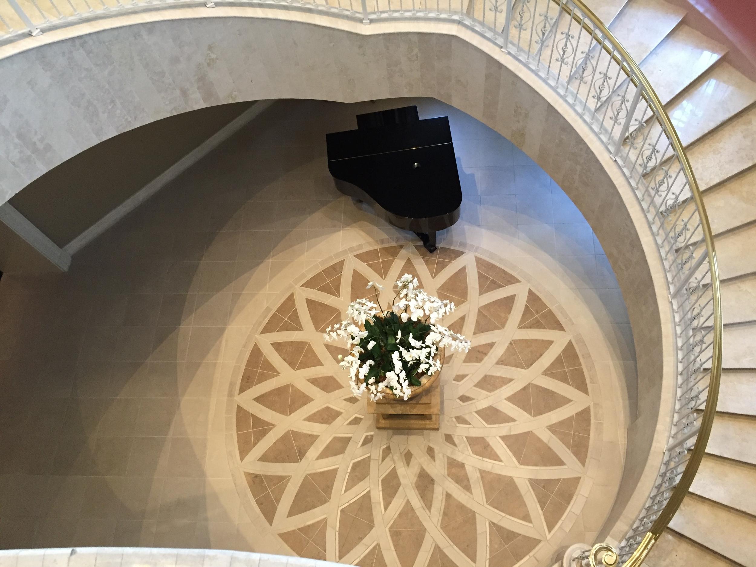 Loews Portofino Bay Resort Spiral Staircase