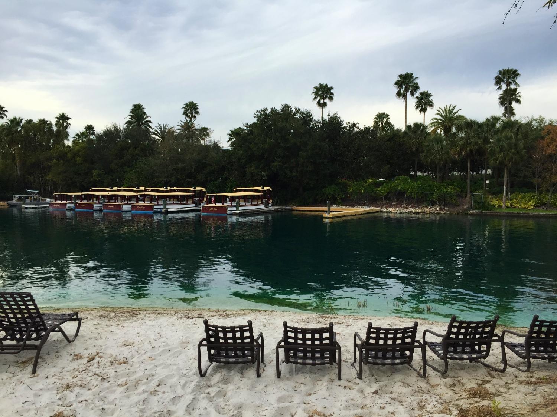 Loews Royal Pacific Resort Waterway and Beach