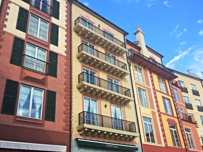Loews Portofino Bay Resort Buildings