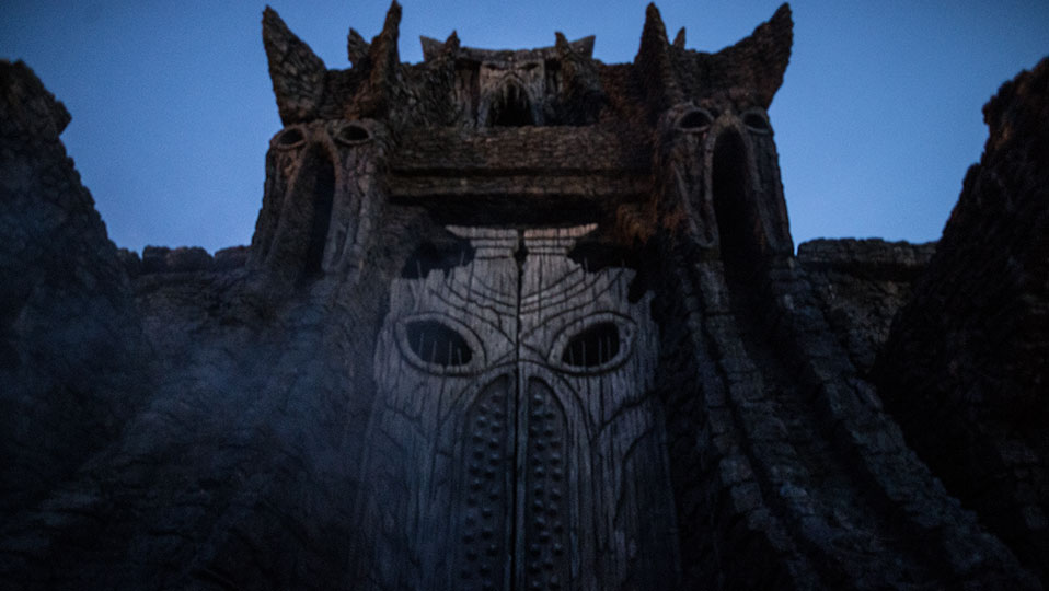 Kong Temple Gates
