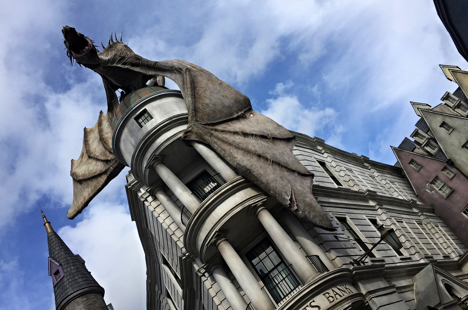 Learn about the Harry Potter and Escape From Gringotts ride inside Gringotts Bank in The Wizarding World of Harry Potter - Diagon Alley.