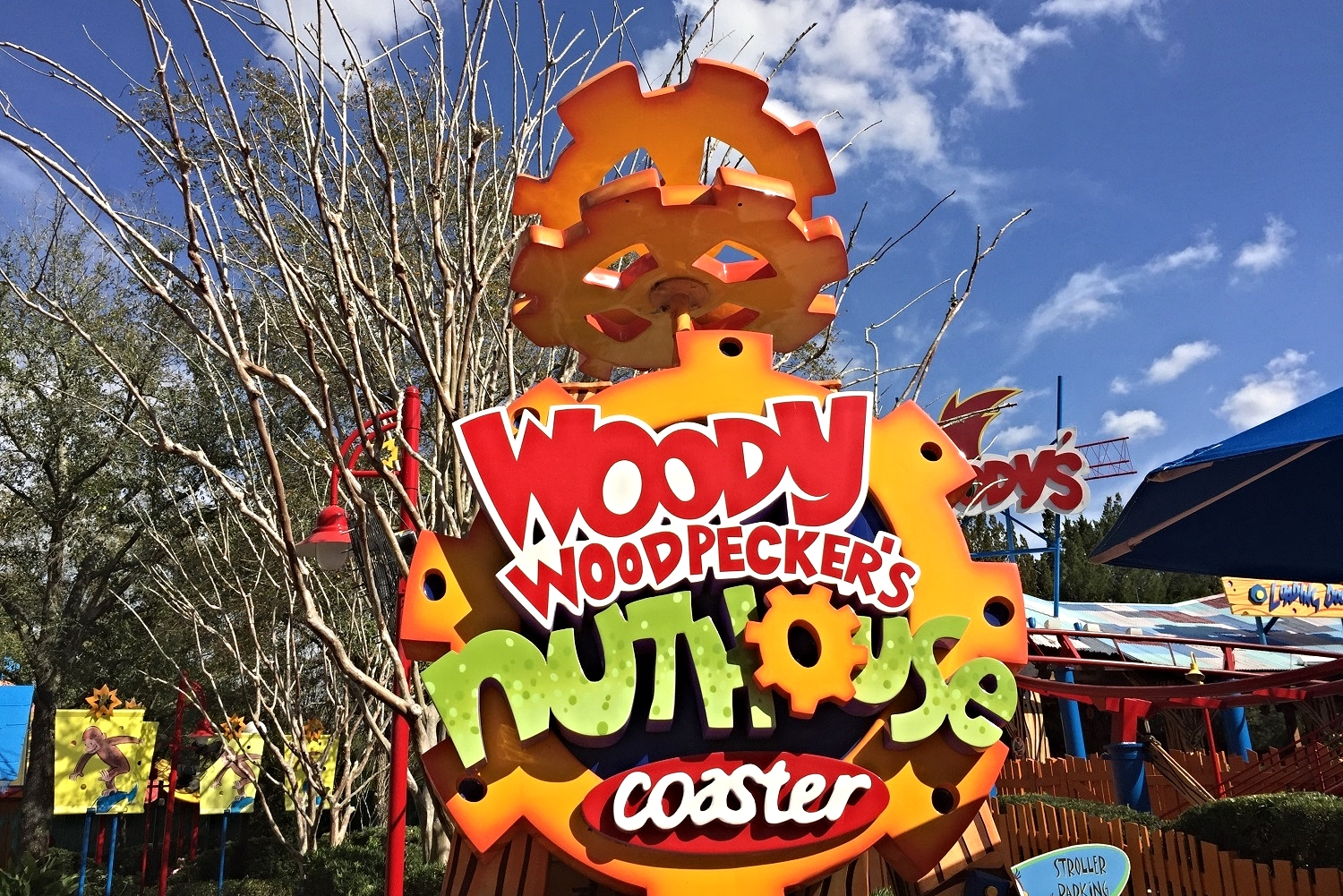 Learn about Woody Woodpecker's Nuthouse Coaster, a kid-friendly roller coaster in Universal Studios Florida.