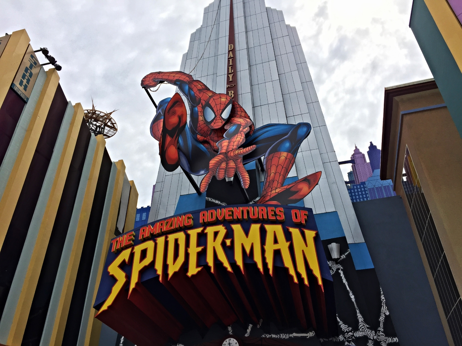 Read about The Amazing Adventures of Spider-Man, a Marvel Superhero Island ride in Islands of Adventure.