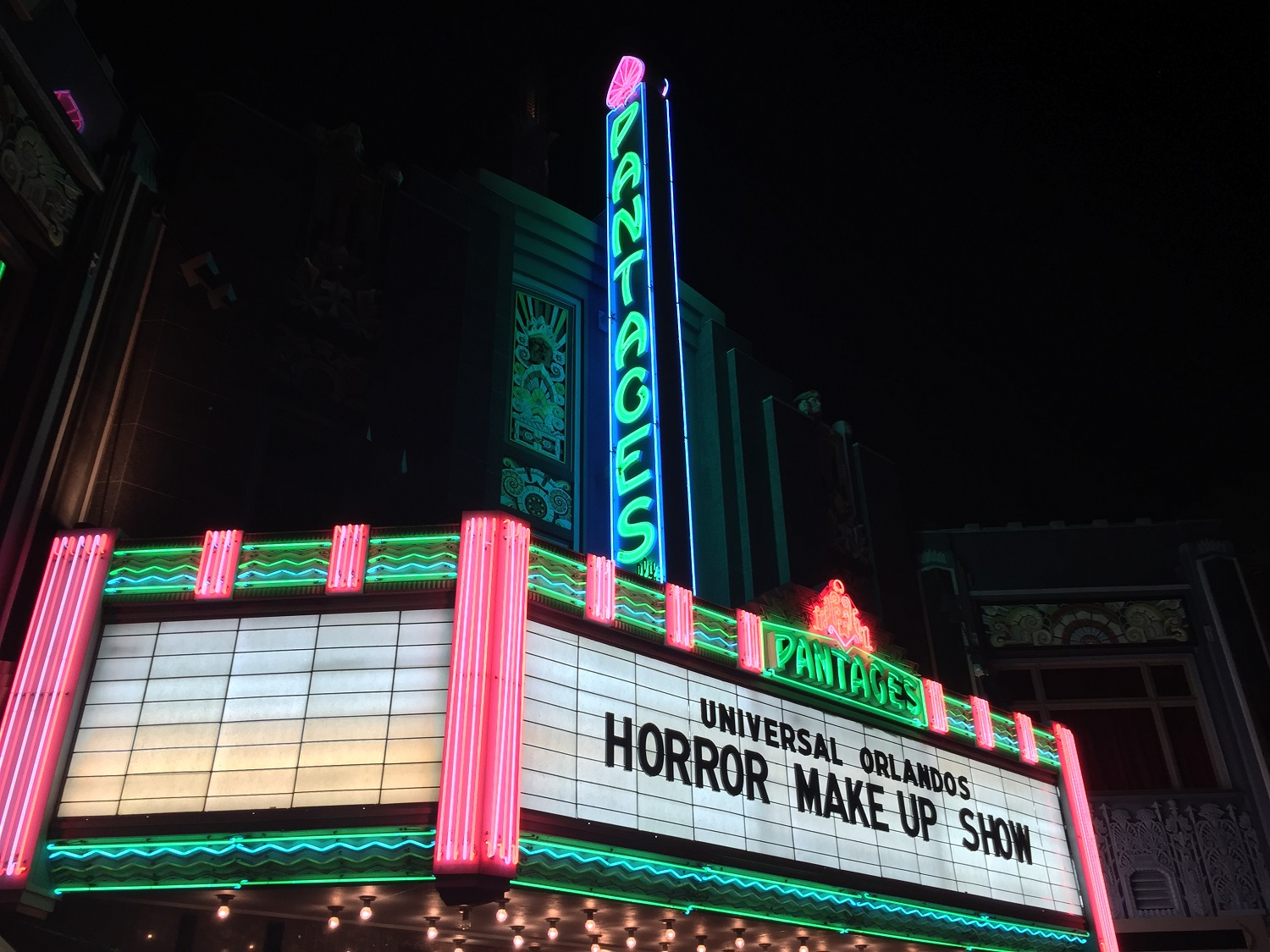 Universal Orlando's Horror Make Up Show is a live-action show that combines comedy with a behind-the-scenes look at horror movie make up and effects.