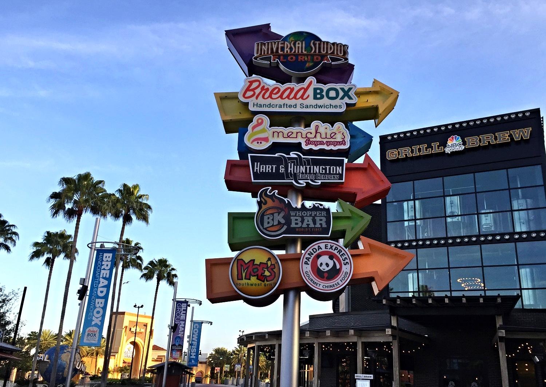 CityWalk Orlando Restaurants