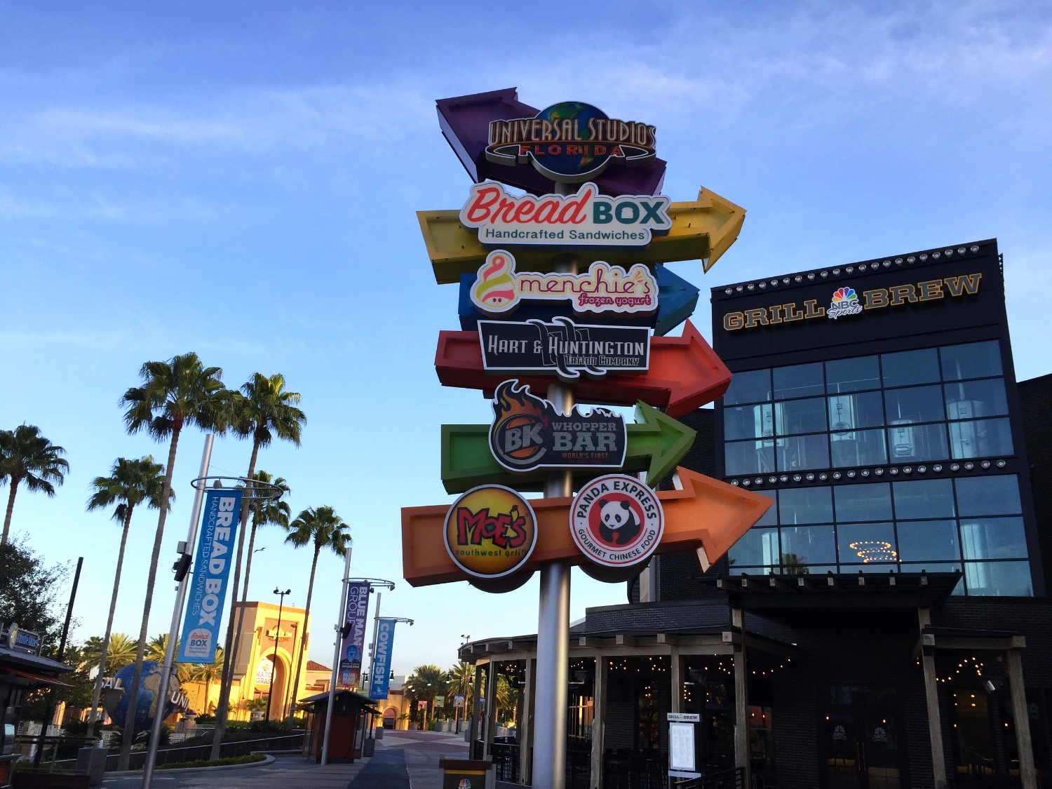 Universal Citywalk Orlando Restaurants Entertainment And