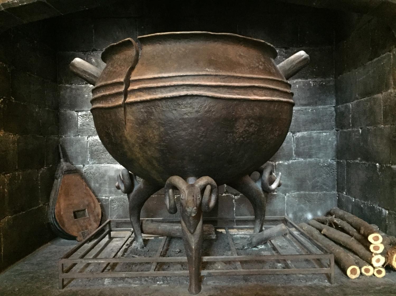 Leaky Cauldron Hearth