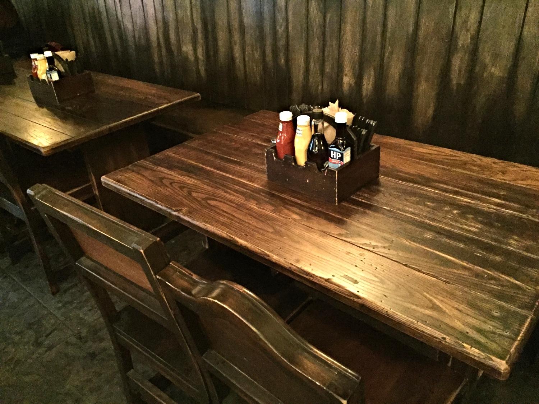Leaky Cauldron Table