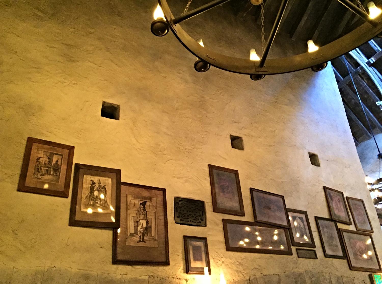 Leaky Cauldron Artwork