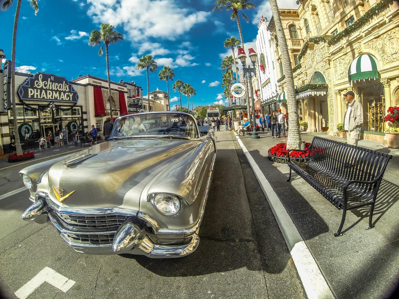 Hollywood Boulevard in Universal Orlando