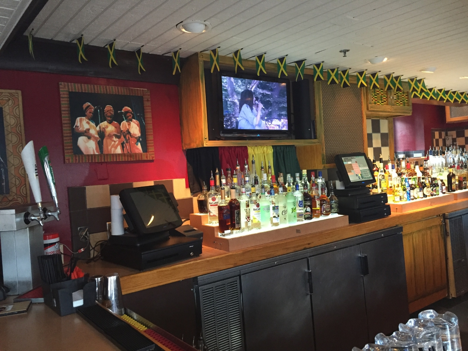 Bar at Bob Marley A Tribute to Freedom