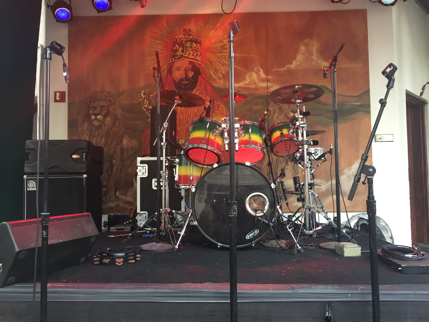 Stage at Bob Marley A Tribute to Freedom