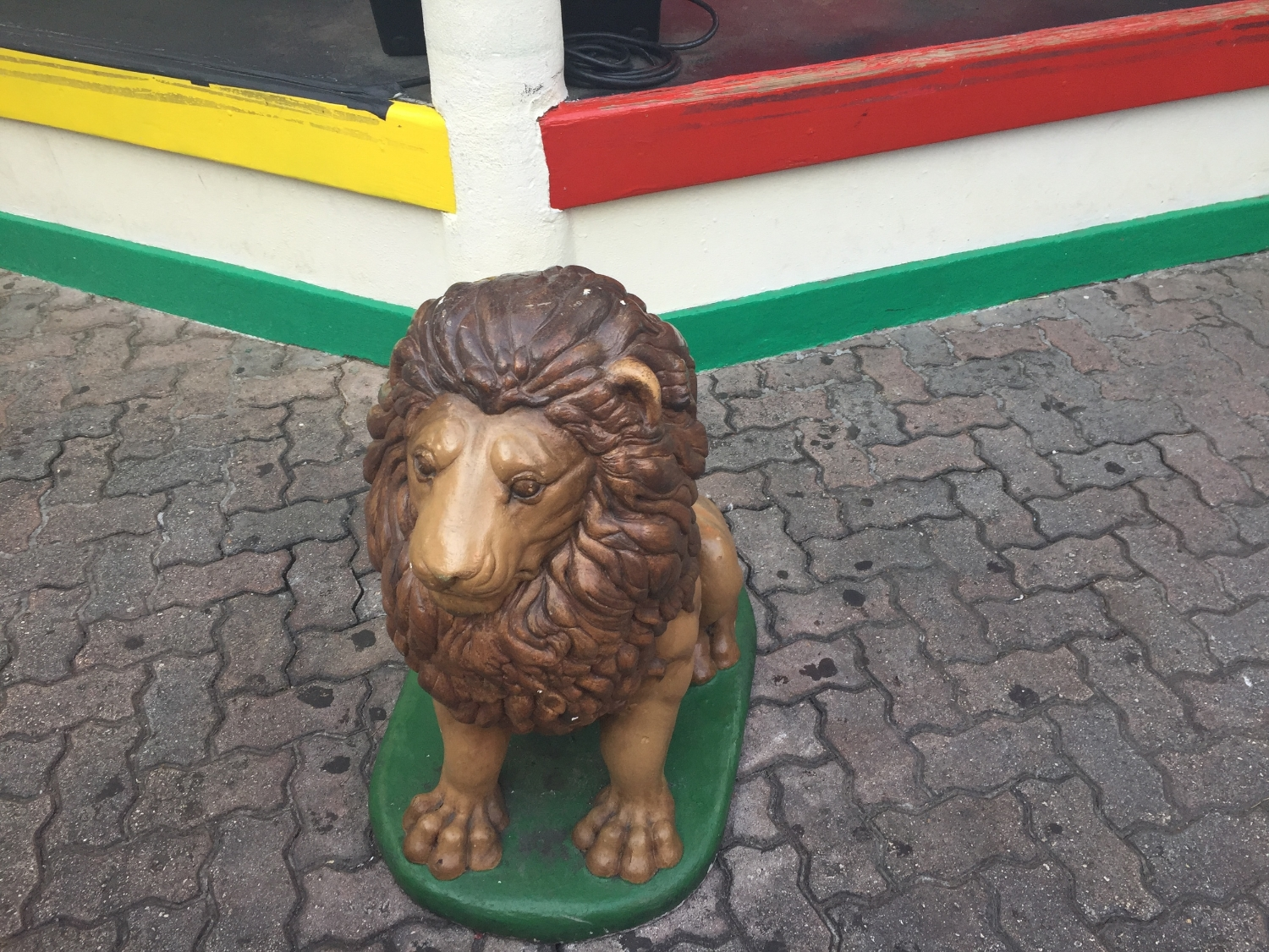 Lion Statue Decoration at Bob Marley A Tribute to Freedom