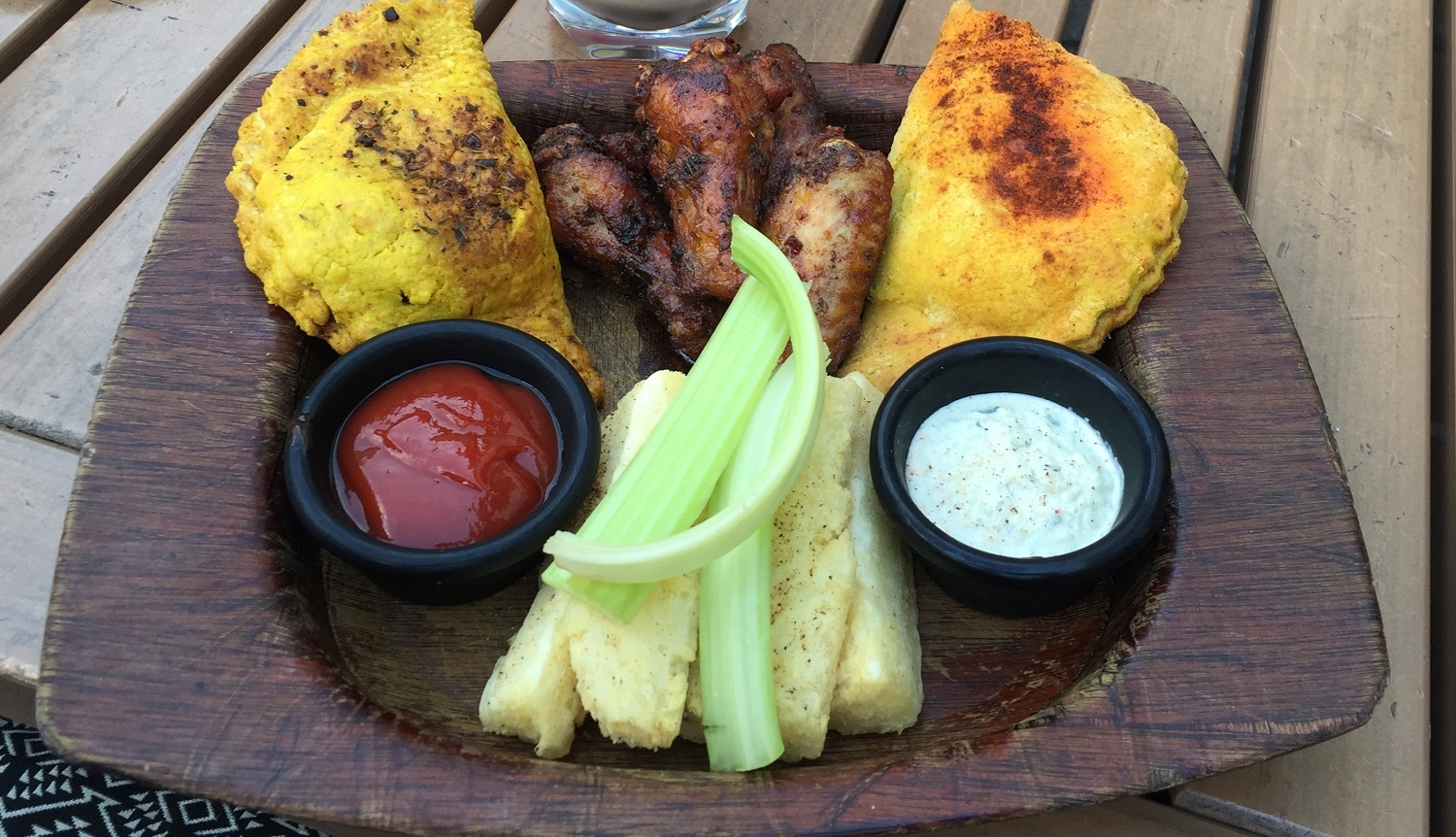 Taste of Jamaica Appetizer at Bob Marley A Tribute to Freedom