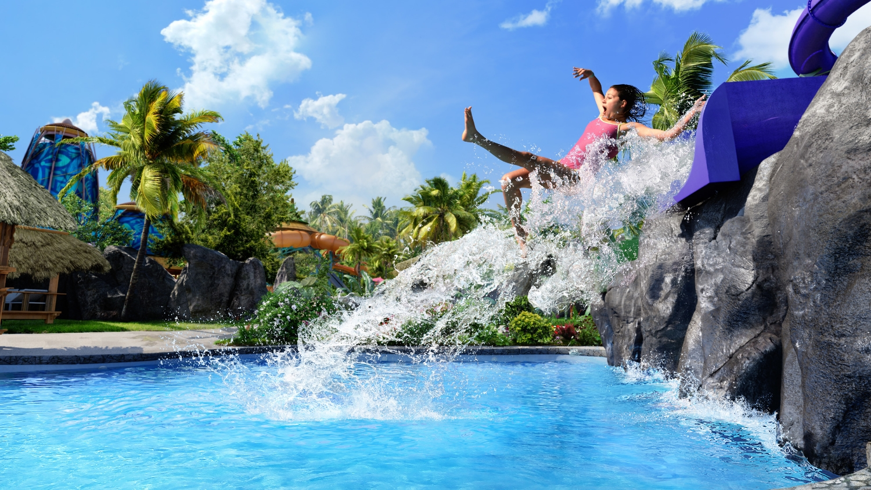 Ohno Drop Slide at Volcano Bay. Image credit: Universal Orlando Resort.