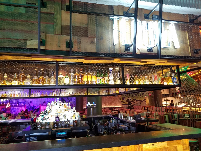 Bar Area at Antojitos
