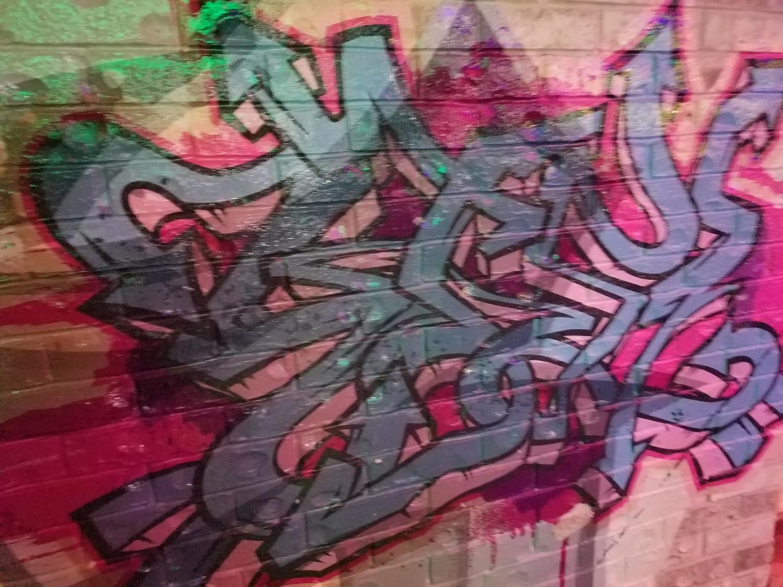 Graffiti Art at Antojitos