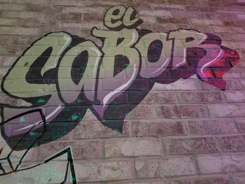 Graffiti Paint Decoration at Antojitos