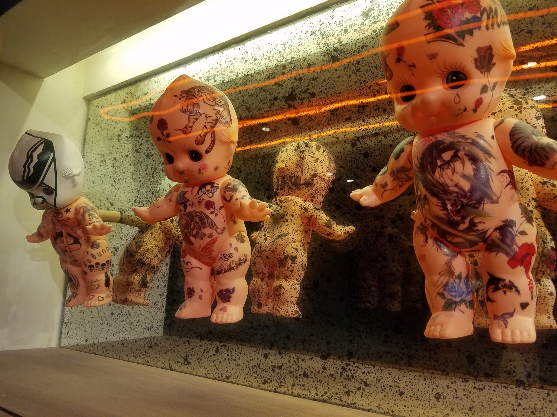 Doll Decoration Up Close at Antojitos